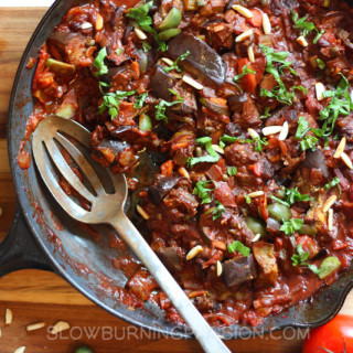 Caponata with Tomato and Olives