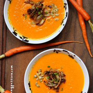 Anti-Inflammatory Ginger-Turmeric Carrot Soup