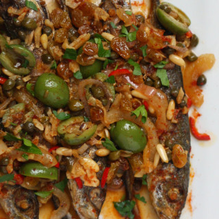 How to Make Spanish Mackerel Escabeche