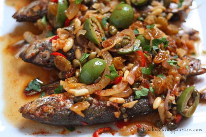 How to make spanish mackerel escabeche for Fish escabeche recipe