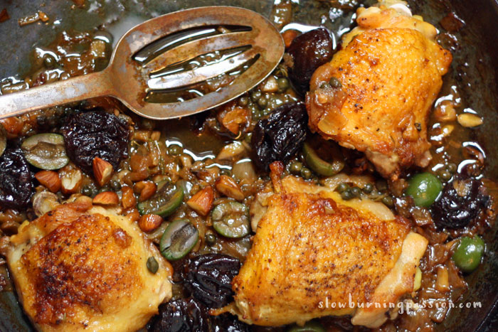 The Chicken Marbella recipe was invented by the late Sheila Lukins, the cooking mastermind behind the famous Silver Palate Cookbook.