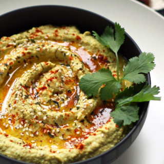 Green Chili Hummus: Mediterranean Cuisine in the New World