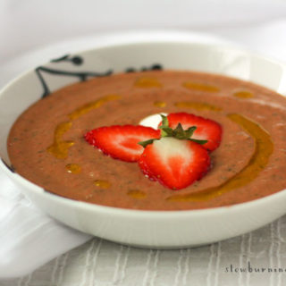 How to Make Delicious Strawberry Gazpacho
