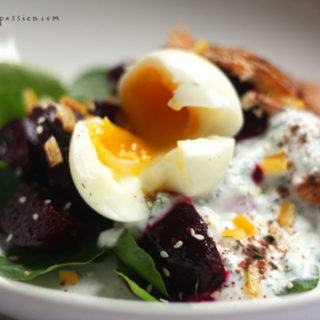 How to Make Mediterranean Beetroot Salad with Yogurt