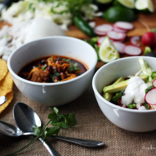 How to Make Pozole Rojo From Fresh Nixtamal