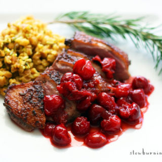 Easy and Absolutely Blissful Duck with Cherry Sauce Recipe