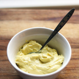 "How do you make a mayonnaise recipe heart healthy? I'm going to give away the secret, like a kid returning from the movies who doesn't understand what a ""spoiler"" is: extra virgin olive oil."