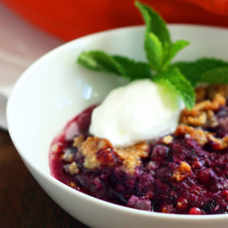 How to Make a Whortleberry Hurtleberry Huckleberry Cobbler