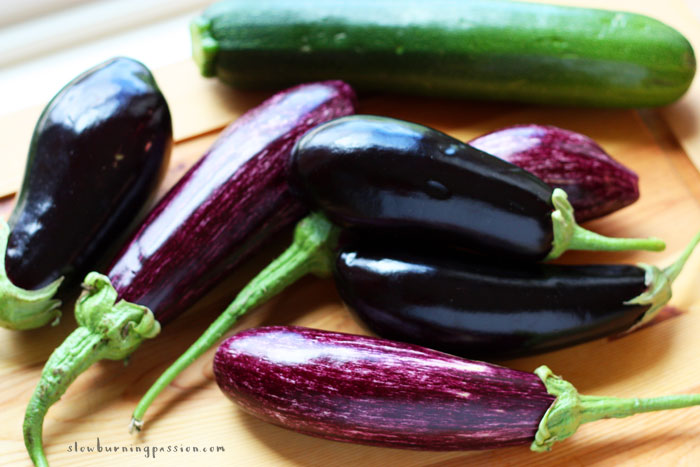 Eggplants and Zucchini