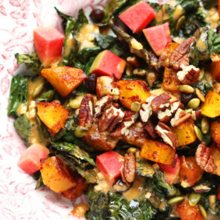 You'll Love This Moroccan Spiced Fall Kale Salad Recipe