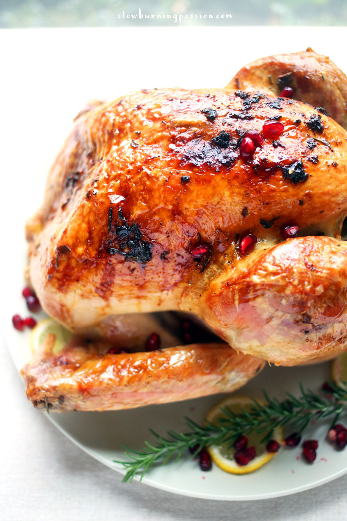 Well, well. It's almost Thanksgiving in America. Time to cook a lot of food and go eat it with relatives. I'm getting back to basics here to show you how to roast a turkey. The version I made uses Mediterranean flavors, but there are many, many options available to you.