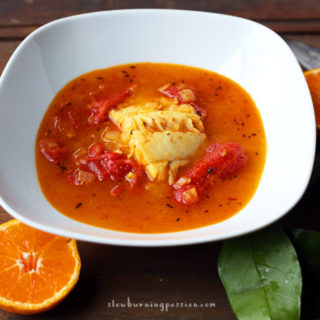This Mandarin Fennel poached cod recipe uses big bold Mediterranean flavors to make an intensely delicious poaching broth. It's a simple and far healthier alternative to fried fish.