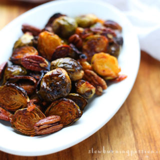 Orange Sriracha Brussels Sprouts Just Like Grandma Never Made