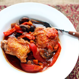 Chicken Cacciatore and an Cheap Joke about Chicken Hunting