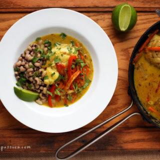 Poached Fish in the Fiery Creole Style