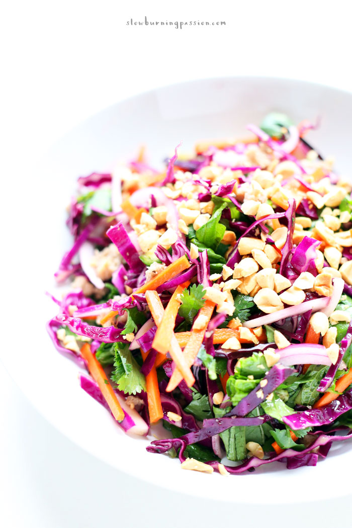 Incandescent Lao Salad is fiery hot