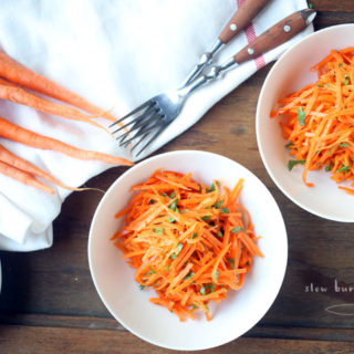 Classic French Grated Carrot Salad