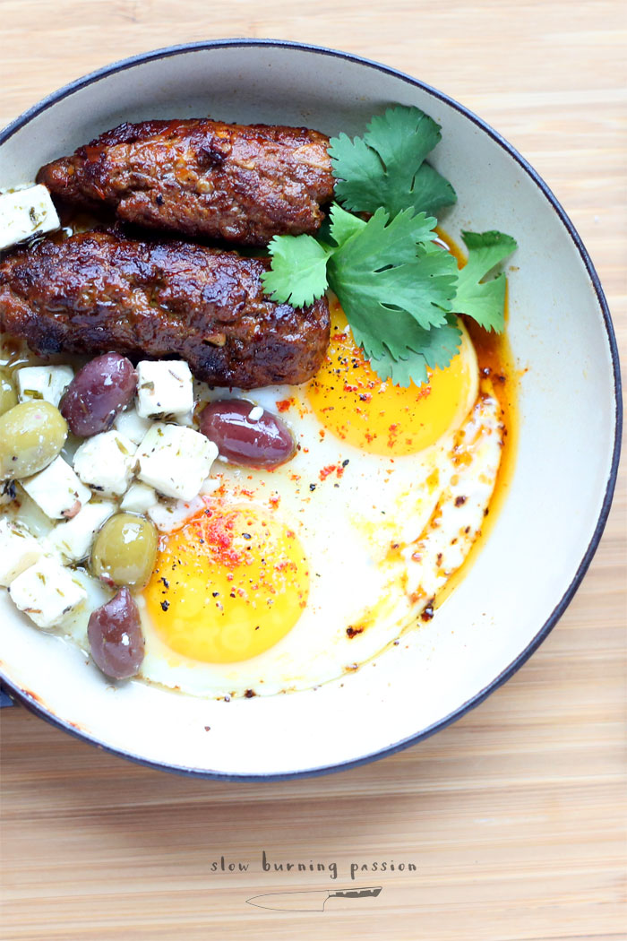 how to cook merguez sausage
